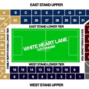Plattegrond White Heart Lane